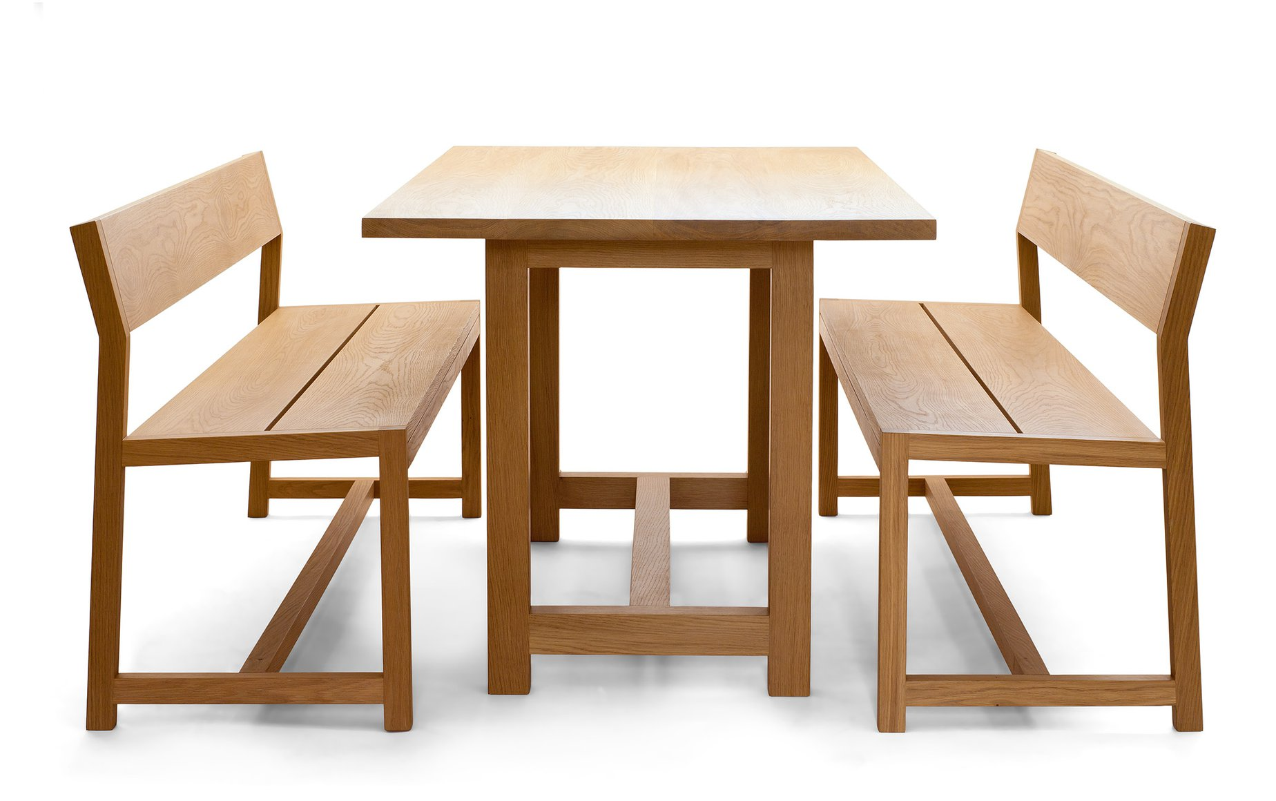 Mansfield table and benches